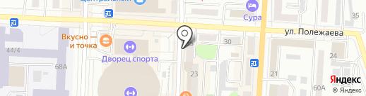 Евросеть на карте Саранска