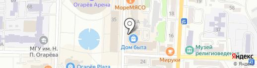 Проектная компания на карте Саранска