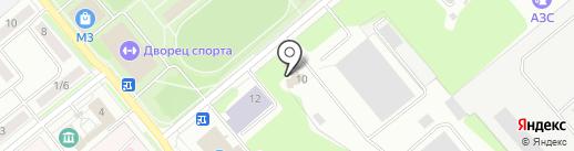 Автотранс на карте Заречного