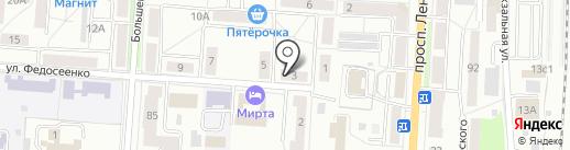 ДОМ на карте Саранска