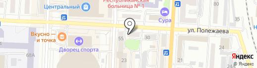 РосДеньги на карте Саранска