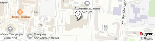 Счетная палата Республики Мордовия на карте Саранска