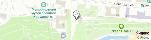 Саранская епархия Русской Православной церкви на карте Саранска