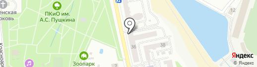 Столичная коллегия адвокатов Республики Мордовия на карте Саранска