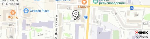 ИНФОТУР на карте Саранска