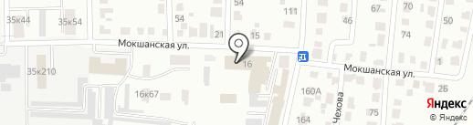 Штаб по делам ГО и ЧС на карте Саранска