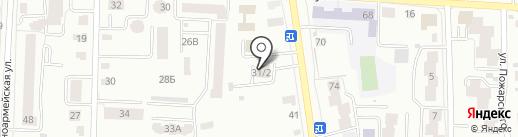 Государственный архив документации по личному составу Республики Мордовия на карте Саранска