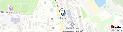 Кристина на карте Саранска