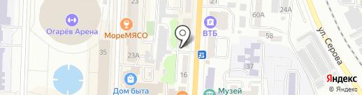 КС банк, ПАО на карте Саранска
