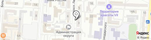 585 на карте Саранска