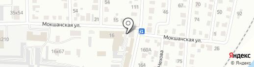 Наш на карте Саранска
