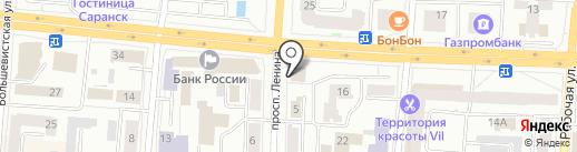OtchetOnline на карте Саранска