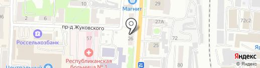 ВЕНЕЦИЯ на карте Саранска