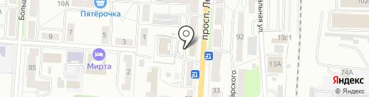 ТТК на карте Саранска