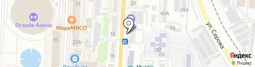 Avenue Nails на карте Саранска