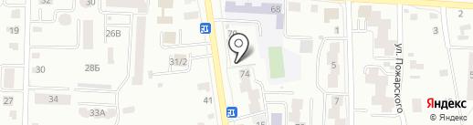 Автосервис на Московской на карте Саранска