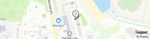Жилкомбыт-1 на карте Саранска