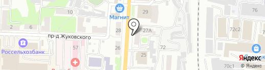 Лиза на карте Саранска