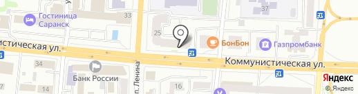 ФИНАМ на карте Саранска