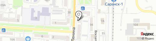 Маячок на карте Саранска