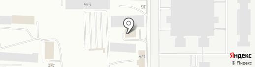 Покрышкин на карте Саранска