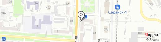 Центр профессиональной подготовки, АНО ДПО на карте Саранска