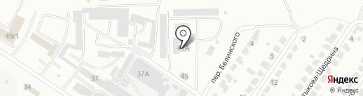 Кислород на карте Саранска