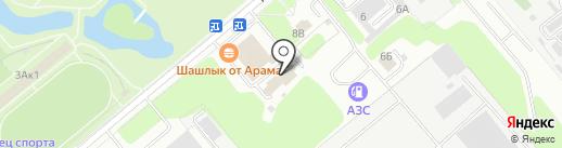 Элекон-Поволжье на карте Заречного
