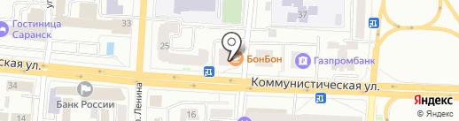 Eva nails на карте Саранска