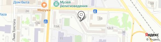 Арбитражный управляющий Фоминов П.А. на карте Саранска