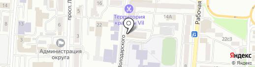 Офис-Люкс на карте Саранска