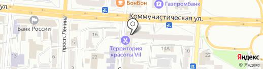 Эталон на карте Саранска
