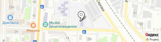Прогимназия №119 на карте Саранска
