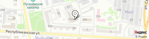 Ателье по пошиву штор на карте Саранска