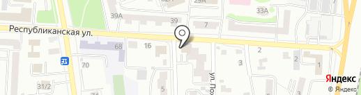 Банкомат, Банк ВТБ, ПАО на карте Саранска