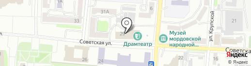 Союз театральных деятелей Республики Мордовия на карте Саранска