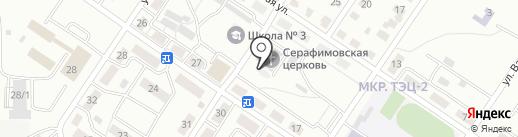 Часовня на карте Саранска