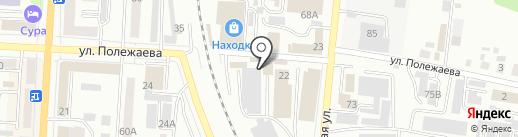 Байкал на карте Саранска