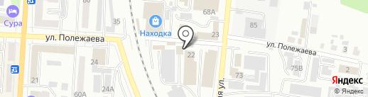 Лотос на карте Саранска