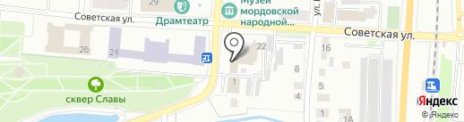 Сельская газета на карте Саранска