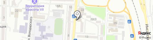 Агентство по рекламе и маркетингу Валерии Новиковой на карте Саранска