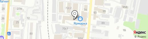 Запчасти на Кировец на карте Саранска