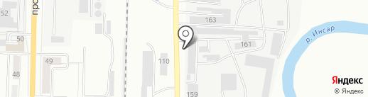 Аварийно-диспетчерская служба на карте Саранска