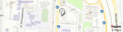 Мувинговая компания на карте Саранска