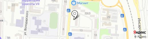 КОНСУЛ на карте Саранска