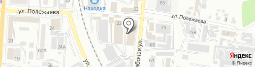 Интерра-М на карте Саранска