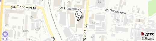 ЛиВада на карте Саранска