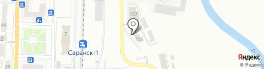 Студия разработки программного обеспечения на карте Саранска