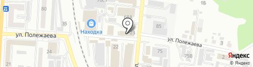 Атриум-Строй на карте Саранска