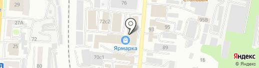 Экобудущее Плюс на карте Саранска